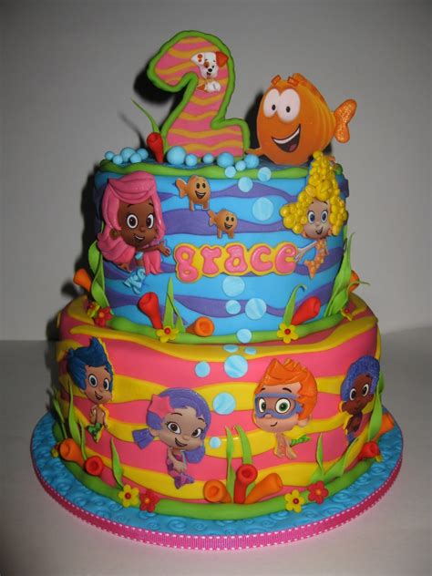 Guppies Cake Decorations guppies birthday cake ideas and inspiration