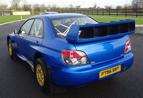 subaru wrc 2007 for sale petter solberg s 2007 subaru wrc s12b rally car