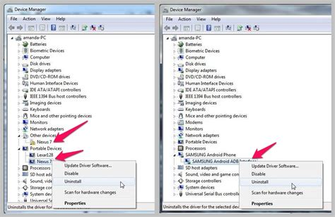 how to uninstall mtp device driver help my pc no longer recognizes my android as a usb drive
