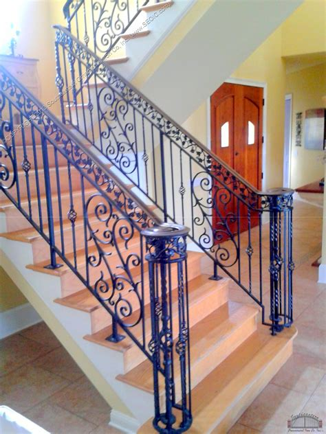 rod iron stair rails the best inspiration for interiors