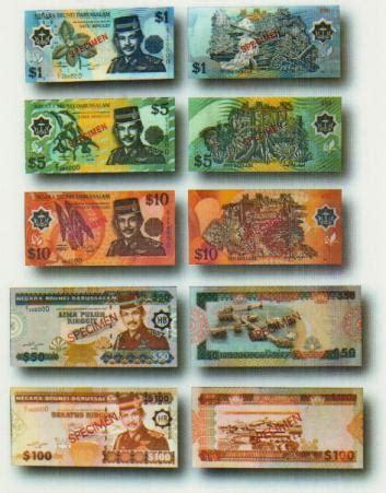 1 Set Uang Nominal Sen dolar brunei bahasa indonesia ensiklopedia bebas