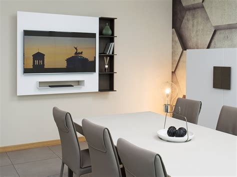 porta tv orientabile parete porta tv orientabile con libreria smart homeplaneur