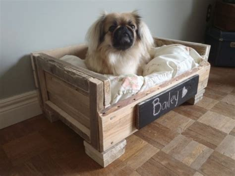 dog bed made out of pallets pallet idea for pet lovers dog beds diy pallet ideas