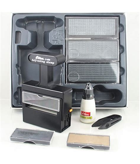 rubber st printing kit shiny s 600 rubber st self inking printing kit buy