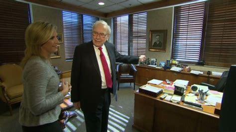 Warren Buffett The Office tour warren buffett s office business news