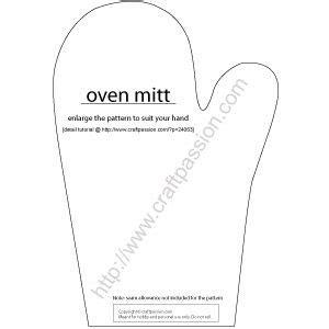 free pattern oven mitt oven mitt pattern sewing applique patterns pinterest