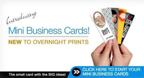 Overnight Prints Business Card Template by Mini Business Cards Overnight Prints Gallery Card Design