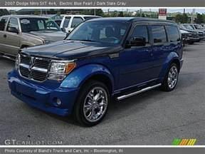 Blue Dodge Nitro Electric Blue Pearl 2007 Dodge Nitro Sxt 4x4