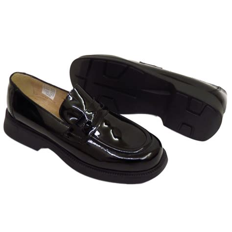 black flat work shoes black leather shoes womens flat loafers office work
