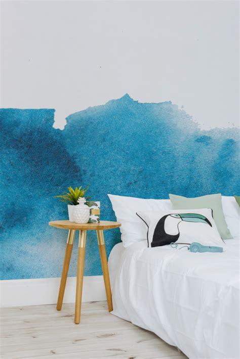 trend painterly watercolour wallpaper  design sheppard