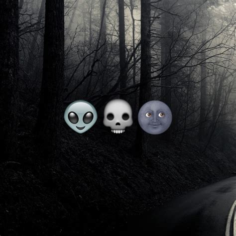 emoji skull wallpaper black moon emoji tumblr