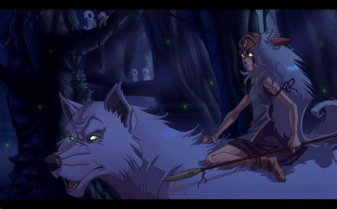 mononoke hime mononoke hime wallpapers wallpaper cave