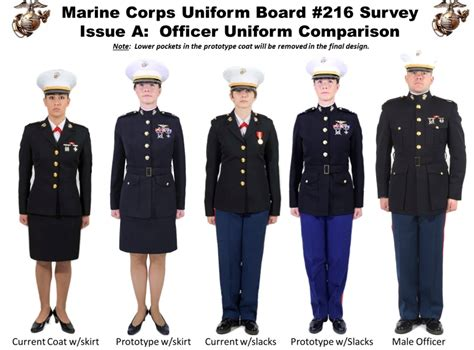female regulations marine corps presentation marines looking at array of changes to uniform policy