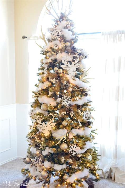 winter won quot deer quot land christmas tree u create