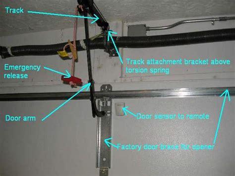 How To Replace Garage Door Opener Motor by Installing A New Garage Door Opener Garage Tool Advisor