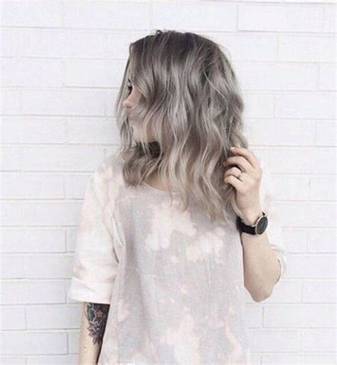 shag cuts for grey hair ash grey hair be ready and ash on pinterest