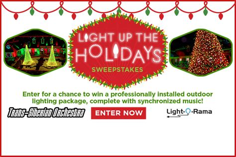 light up the holidays sweepstakes countdown to christmas