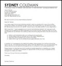 Per Diem Practitioner Cover Letter by Office Assistant Cover Letter Exle Letters With Regard