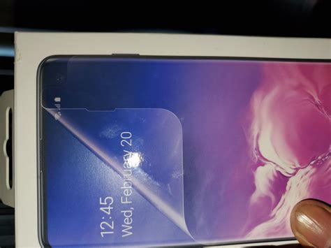 samsung galaxy  replacement screen protector