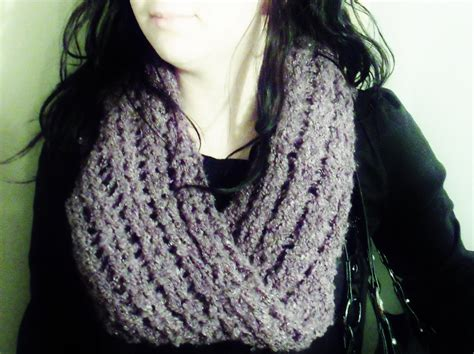 loom knit scarf pattern items similar to mobius infinity scarf loom knitting