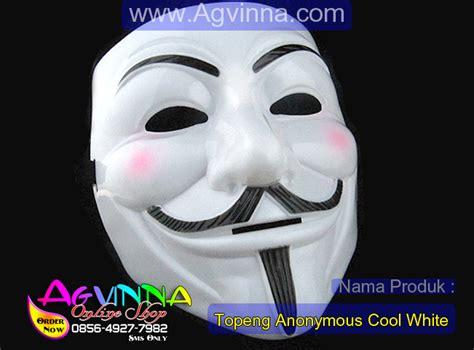 Topeng Anonymous Berkualitas bahan topeng polyvinyl chloride plastic tahan air