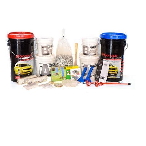 garage floor epoxy kit shop epoxy coat 2 part beige with clear coat high gloss garage floor epoxy kit actual net