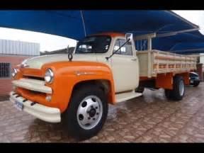 Chevrolet Br Caminh 245 Es Chevrolet Brasil 1958 Sucesso Nacional