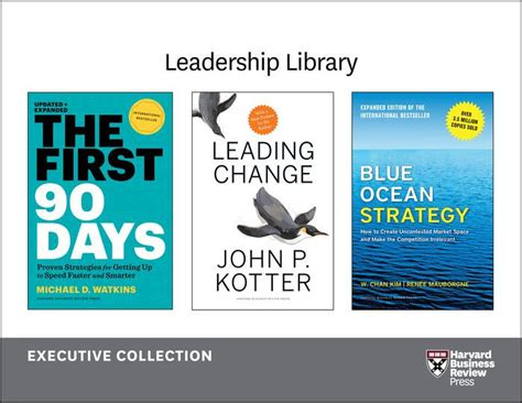 Executive Mba Books by Harvard Business Review Leadership Library The Executive