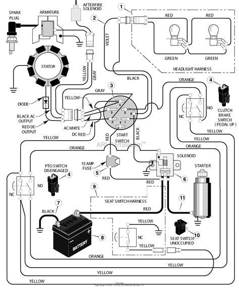 briggs stratton engine wiring diagram free