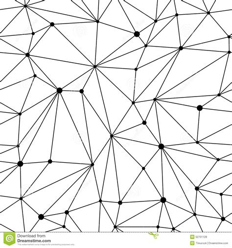 black and white mesh pattern geometric mesh seamless pattern stock vector image 52701128