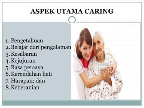 Komunikasi Sikap Empati Dalam Keperawatan 1 konsep caring