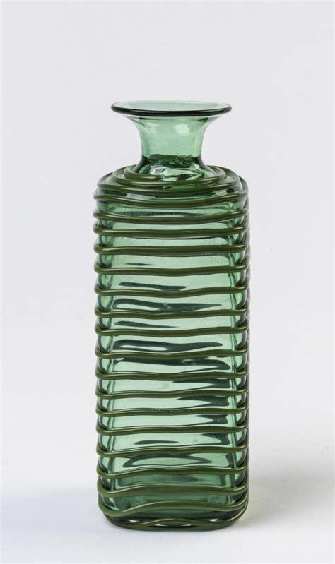 Venini Glass Vase by A Venini Murano Glass Vase Circa 1960s