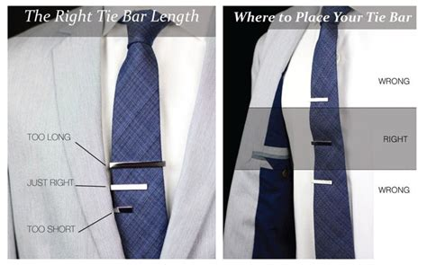 where to place your tie bar how to tie a tie