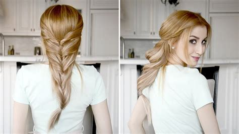 Fancy Ponytail Hairstyles by Twisted Ponytail Hairstyle Fancy Hair Tutorial