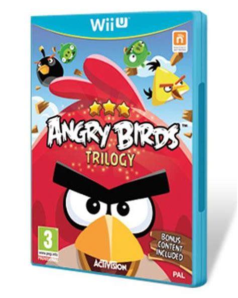 Wii U Angry Birds Trilogy Berkualitas angry birds trilogy wii u de wii u en fnac es comprar videojuegos en fnac es