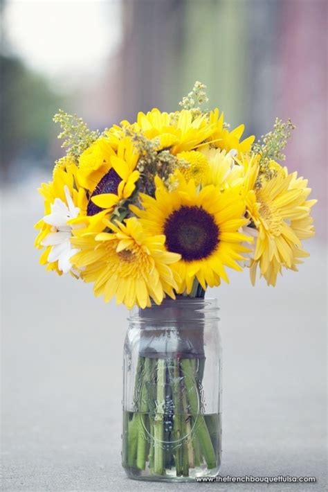 sunflower arrangements ideas pinterest