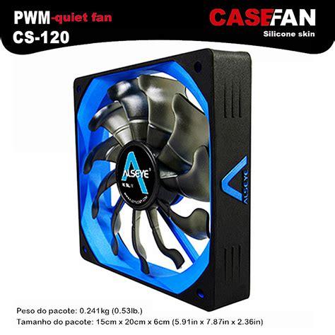 Alseye Fan Casing Windlight alseye cooler fan for computer 120mm pwm 4pin fan for cpu cooler radiator pc 12v 500