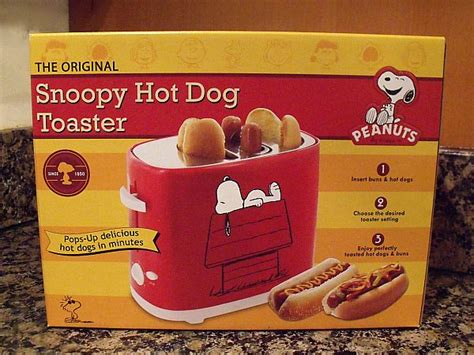 Dog Giveaway - giveaway snoopy hot dog toaster smartplanet