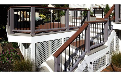 warm cool deck makeover featuring transcend  fire pit