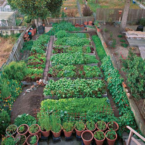 Small Home Vegetable Gardens Productive Garden On A Small Lot Vegetablegardener