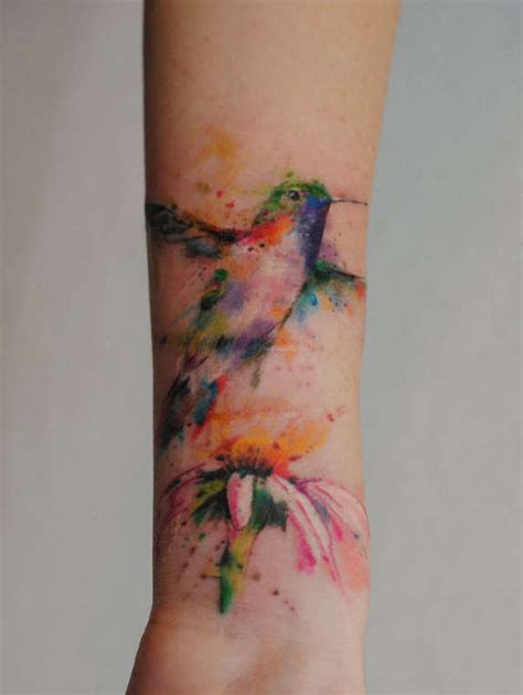 watercolor tattoo tulsa 41 large and small hummingbird tattoos