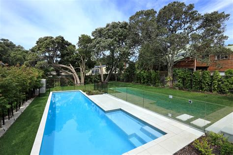 Backyard Designs With Pool Pool Contemporary With Fence | pool fence ideas landscape modern with alle backyard grass