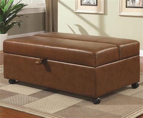 bed ottomans rolling ottoman bed hiconsumption