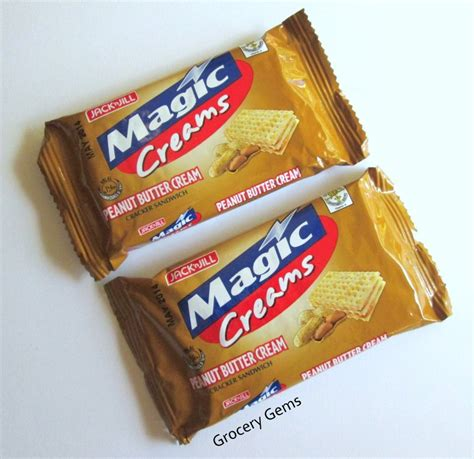 Biscuit Magic Cracker Sandwich grocery gems magic creams peanut butter