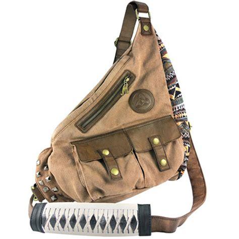 walking bag walking dead michonne s sling bag