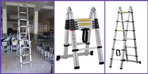 Tangga Aluminium 2m tangga telescopic murah tangga telescopic murah