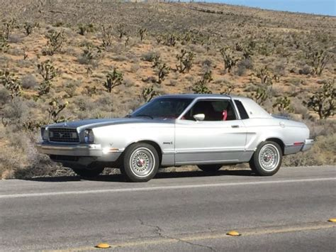 1975 mustang ii ghia silver luxury edition for sale