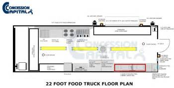 food truck floor plans floorplans