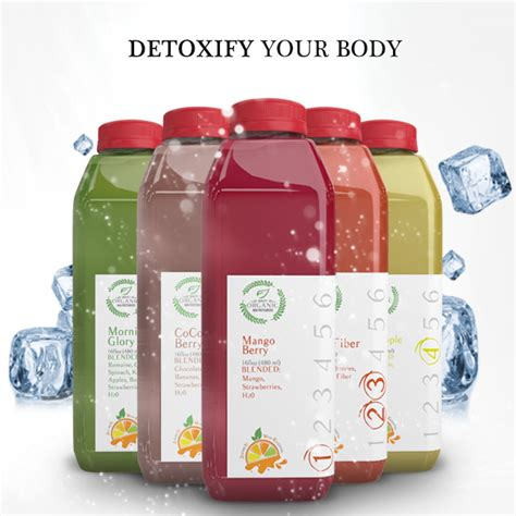 Organ Detox Juice by Jive Cleanse Jive Juice Company