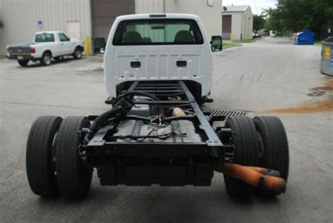 purchase   ford  xl  diesel cab chassis  flatbed tow truck utility bed